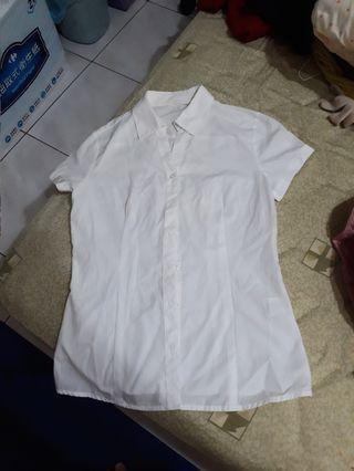 net 全白襯衫s號面試必上近全新