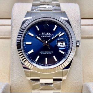BNIB Rolex Datejust 41 - 126334 Blue / Oyster
