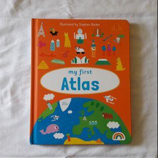 Preloved • Boardbook My First Atlas