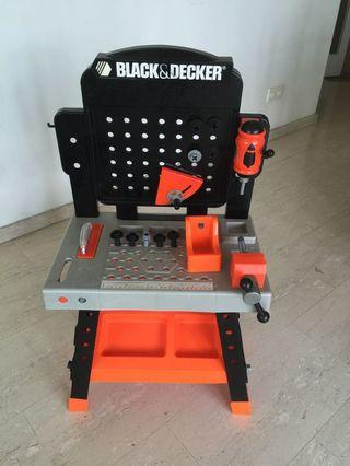Black and Decker work table toy