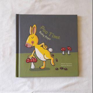 PRELOVED • Pop Up Book Poo Time Baby Poops