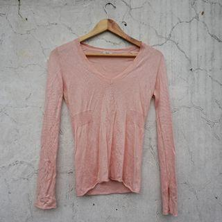Pink Knitted Tops #bagibagi