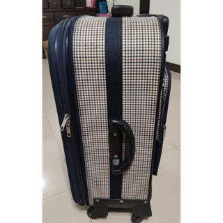 超大~28吋360度5輪拉桿行李箱~可放二人東西一個抵二個
