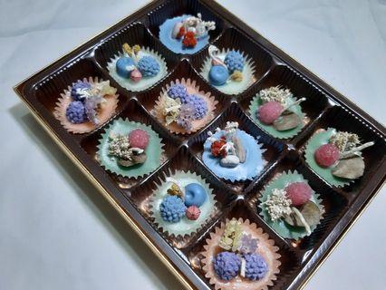 Mini candlewax cupcake   lilin Aromatheraphy