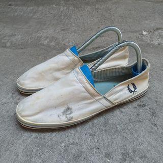 Slip on fred perry