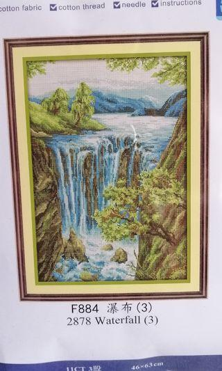 Cross stitch kit 11ct F884 NKF
