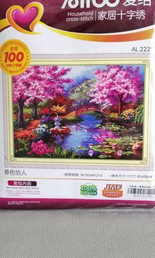Cross stitch kit 11ct scenary
