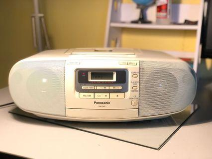 Panasonic cassette player