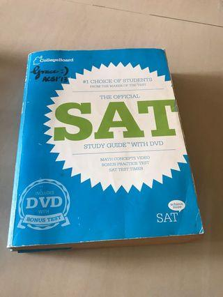 SAT Study Guide with DVD