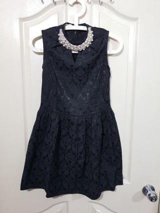 Black Pearl Dinner Dress