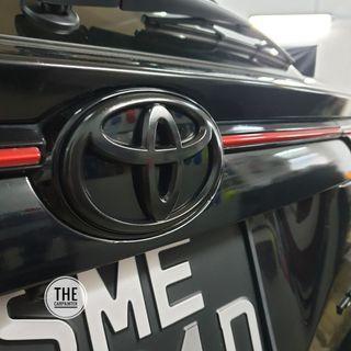 Toyota Harrier Logo Emblem Plastidip Plasticdip Plastic Dip Plasti Dip Spray Service