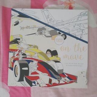 On the Move Colouring Book