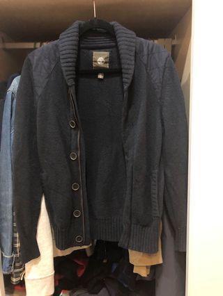Timberland 針織厚外套