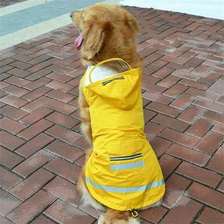 Pet RainCoat for Large Dogs Waterproof Dog Clothes Reflective Dog Coat Outdoor Big Dog Jacket Pets Clothes And Accessories