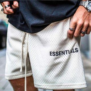 Fear of God Essentials FOG men's breathable mesh shorts