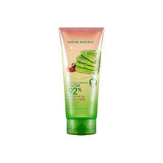 [READY STOCK] NATURE REPUBLIC SOOTHING & MOISTURE CACTUS 92% SOOTHING GEL 250ML