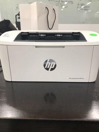 HP laser mono Printer laserjet pro m15w