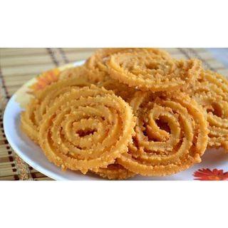 Homemade Murukku Deepavali Diwali Indian snacks