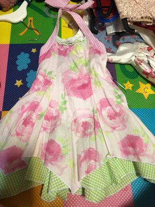 Kate Mack 4 year old halter dress