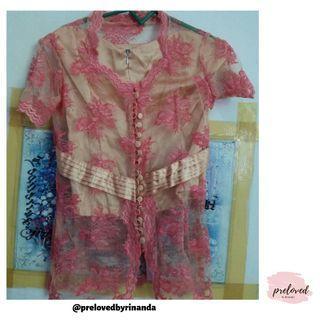 Kebaya Pink // pengiriman dari Lampung