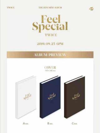 TWICE 8th Mini Album-Feel Special
