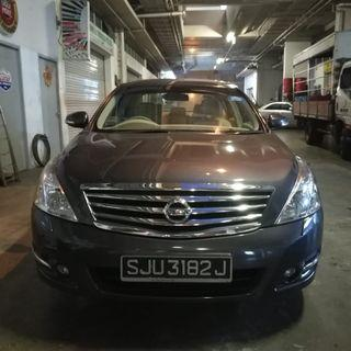 Nissan teana 2.5a for rent v6 engine