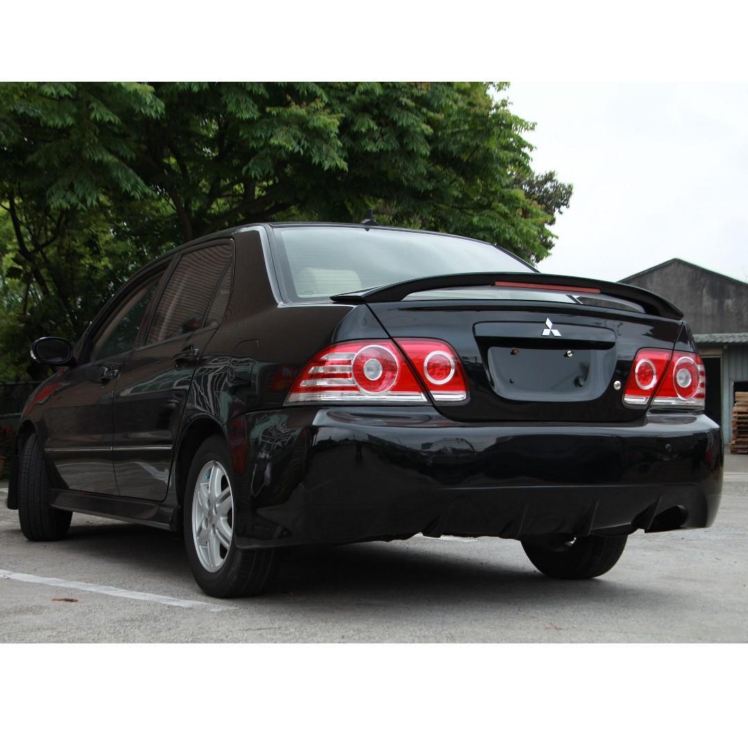 2006 三菱 GB Lancer 1.6 黑 配合全額貸、找錢超額貸 FB搜尋 : 『阿文の圓夢車坊』