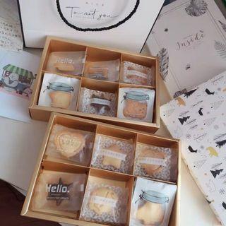 Christmas Gift Box / New Year Gift Box / Cake Box  / Biscuit Box / Cookie Box / Pastry Box
