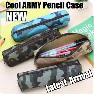 Children Day Gift, Cool Pencil Case Army / Military/ Camouflage,  Stationery, Birthday, Christmas, Cute, Party, Gifts, Goodie Bag