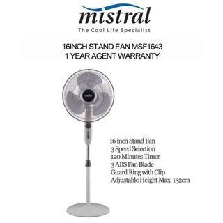 3 weeks old stand fan Cheap suitable for HDB