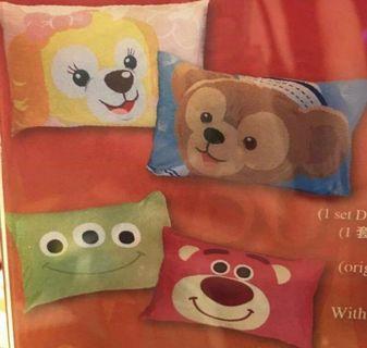 香港迪士尼三眼怪跟熊抱哥枕頭套