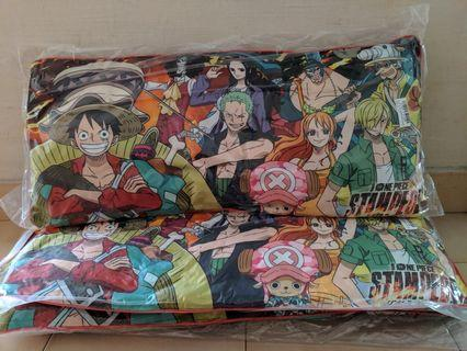 One Piece Stampede Long Cushion 2 Variations