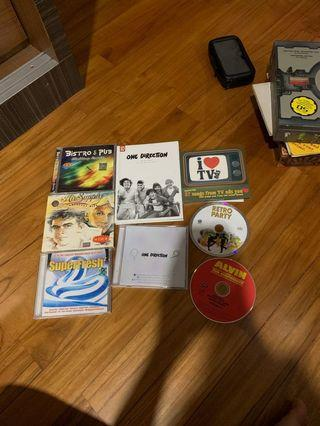 CDs and Albums
