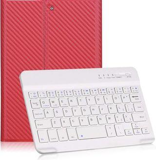 "GOOJODOQ 7.9"" [Upgrade] Soft TPU Back Stand Cover with Magnetically Detachable Wireless Bluetooth Keyboard for Apple iPad Mini 1 / Mini 2 / Mini 3"