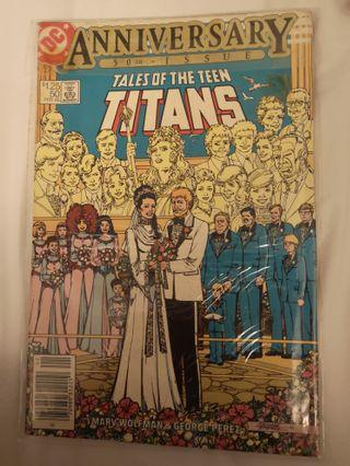 Tales of Teen Titans 50th Anniversary