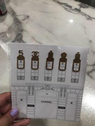Chanel bookmark