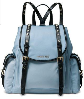 Michael Kors Nylon Backpack專櫃款防水尼龍後背包(中款)
