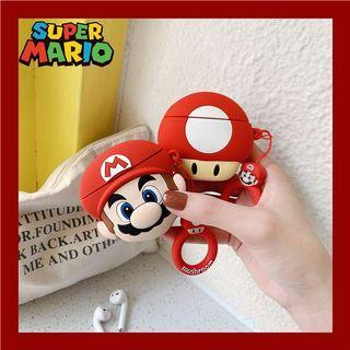 Super Mario Airpods Case