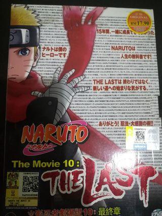 Naruto The Movie 10: The Last DVD