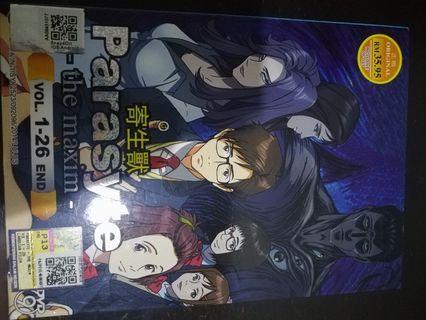 Parasyte -the maxim- Anime DVD