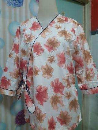 Ready stock..Kimono baju tidur setelan