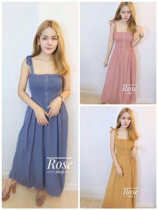 Single line smock dress