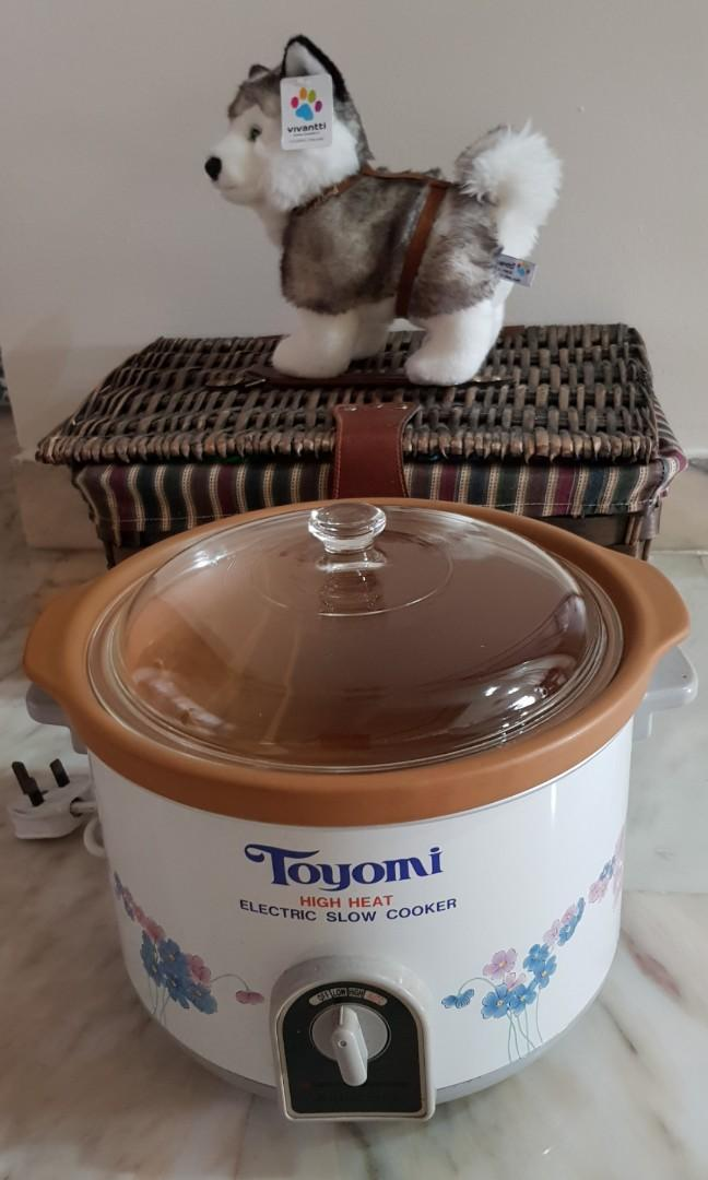 4.7 L  Toyomi Slow Cooker (RESERVED)