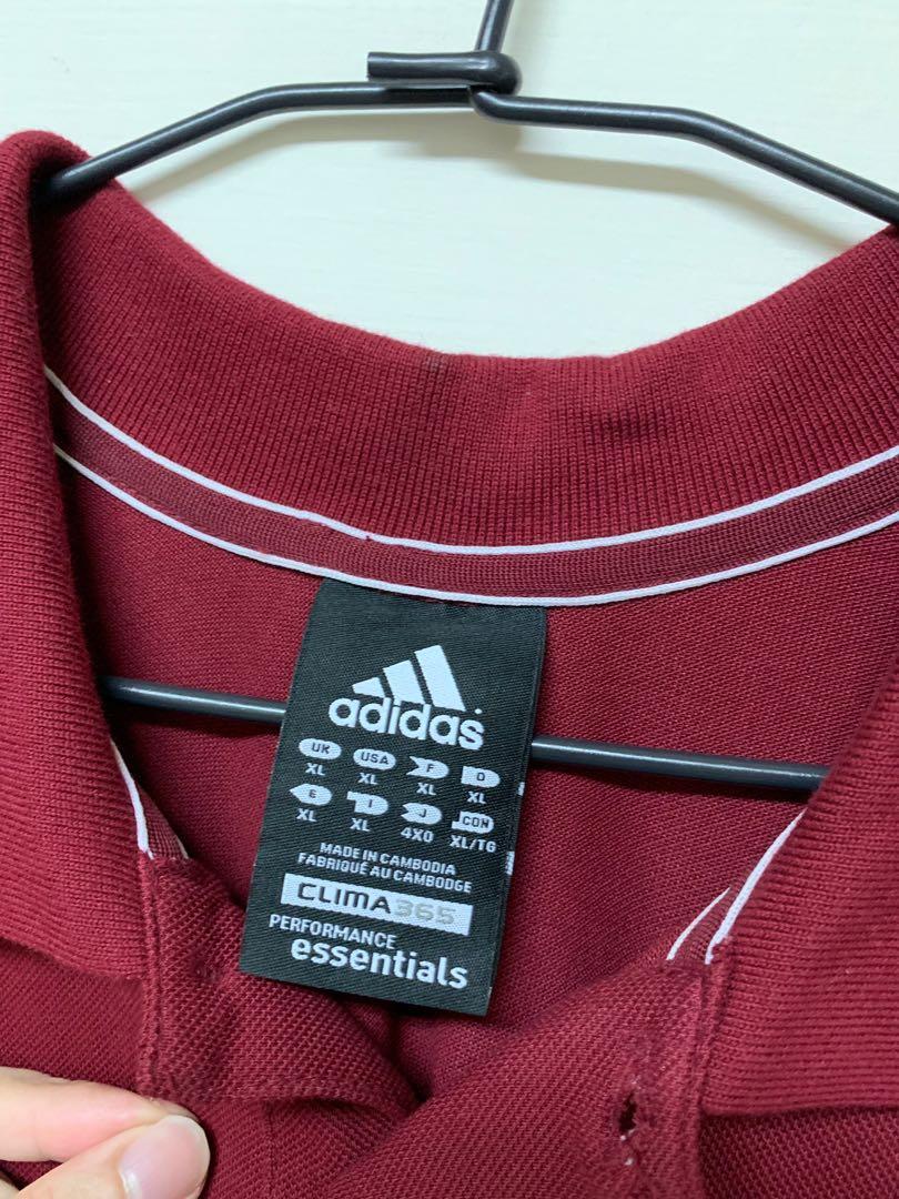 Adidas polo 衫