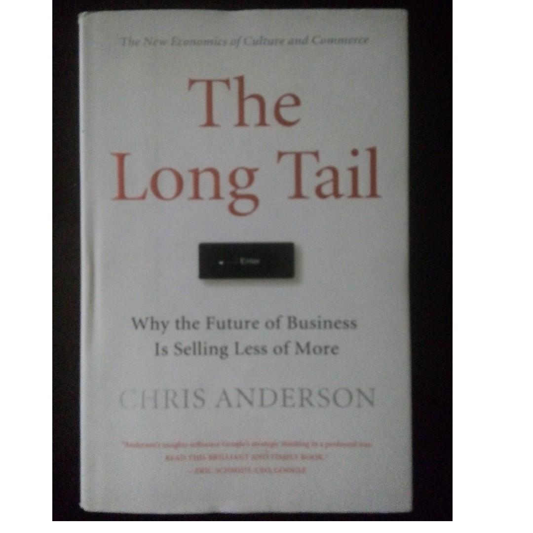Business Management Marketing Book: The Long Tail: Why the Future of Business is Selling Less of More