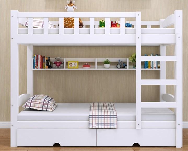 Bunk Bed White 上下格床 錄架床 上下鋪 白色