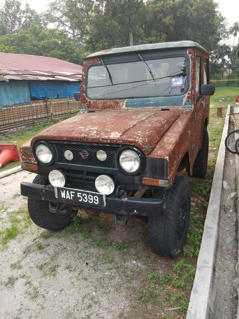 Classic, oldskool, retro 4X4 Jeep Daihatsu Taft F20 1.6cc petrol manual