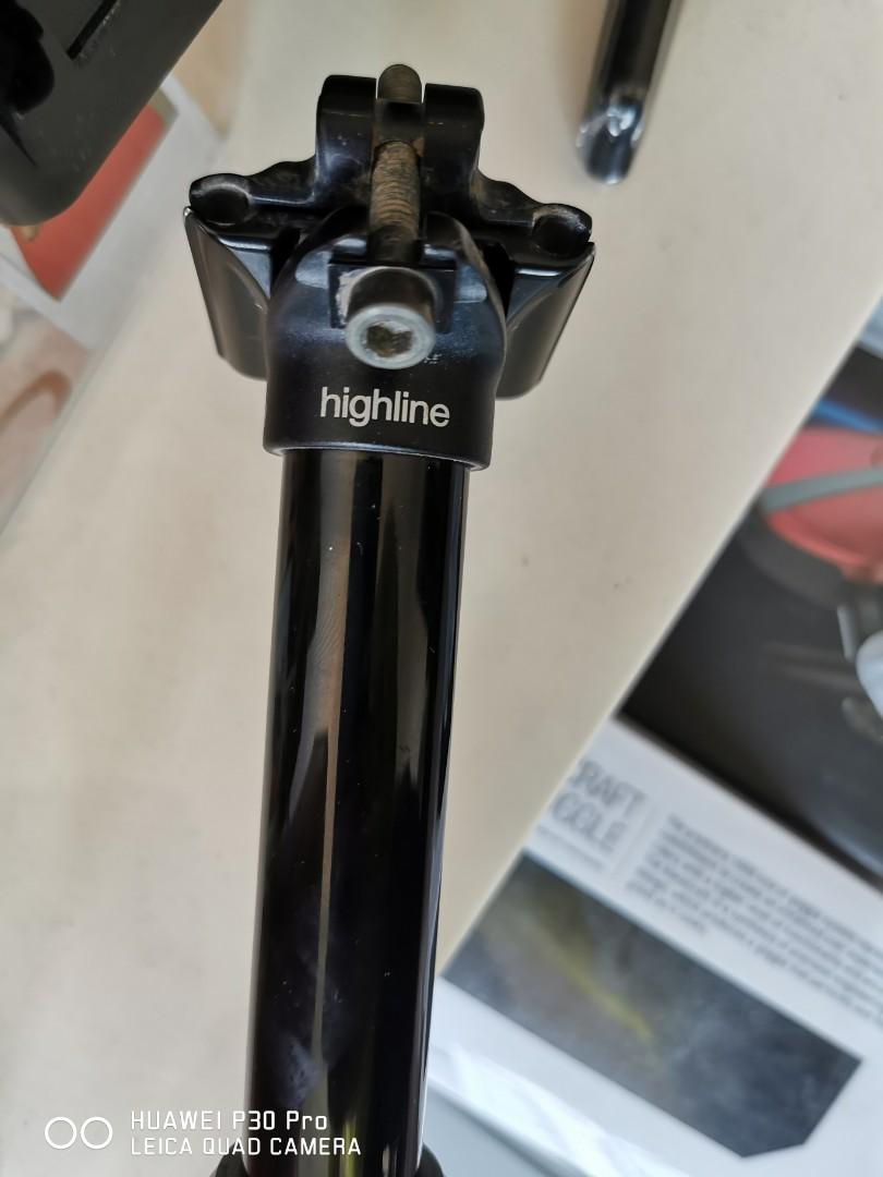 $350 MSRP 2019 Crank Brothers Highline Dropper Seatpost 30.9 x 170mm Internal