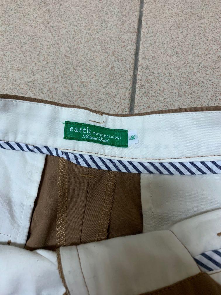 Earth music 西裝打褶短褲