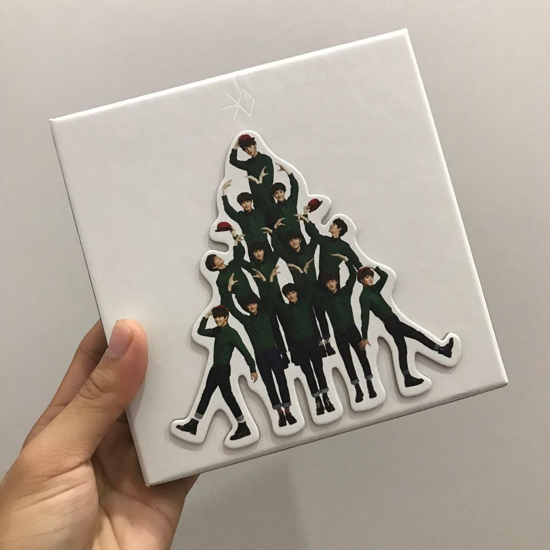 EXO ALBUM Miracle in December MID Chinese Version EXO 十二月的奇迹